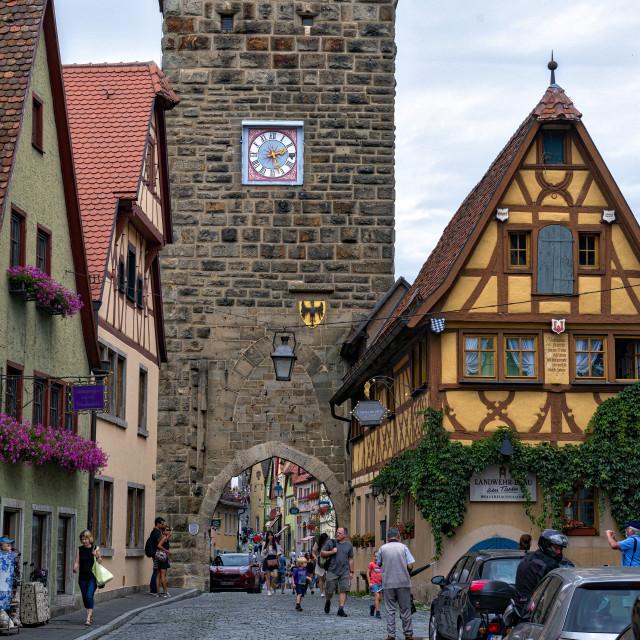 """""""Rothenburg Germany"""" stock image"""