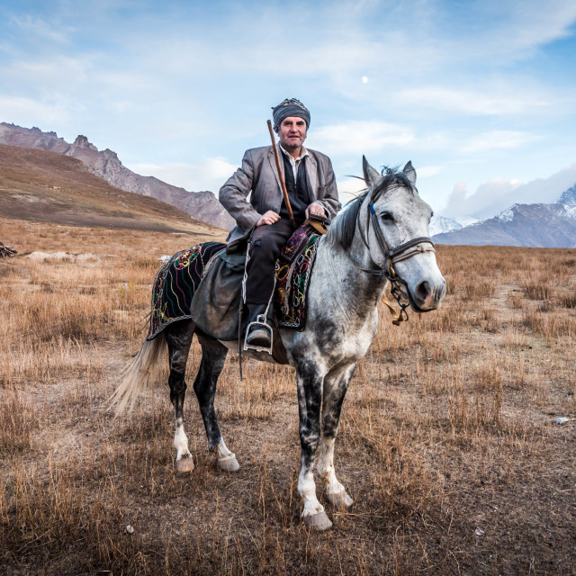 """Tajik shepherd"" stock image"