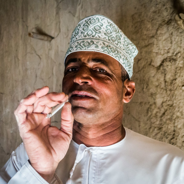 """Omani Man"" stock image"