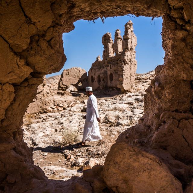 """""""Arabian Ruins"""" stock image"""