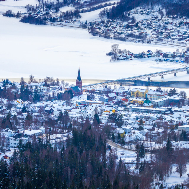"""Lillehammer in Norway"" stock image"