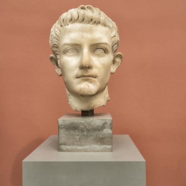 """Emperor Caligula"" stock image"