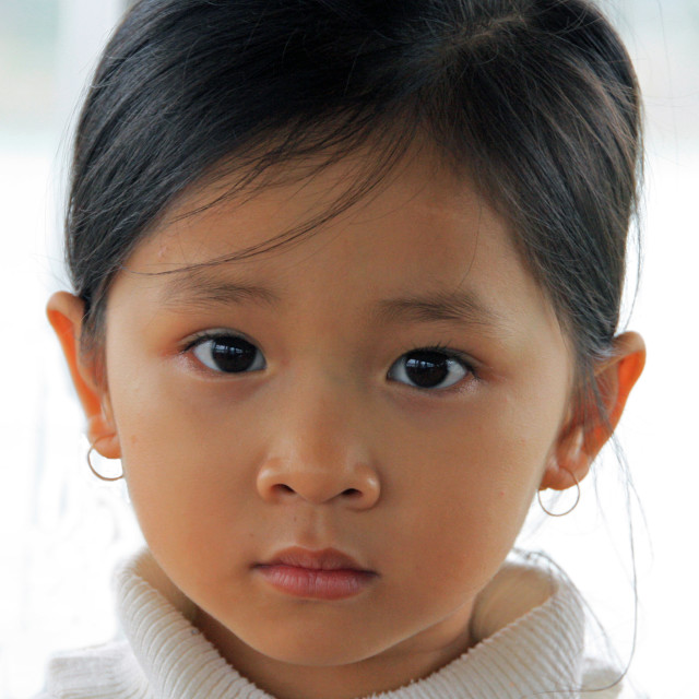 """""""Vietnamese toddler"""" stock image"""