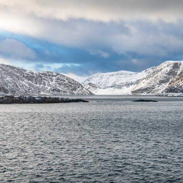 """Eiterfjorden, Norway"" stock image"