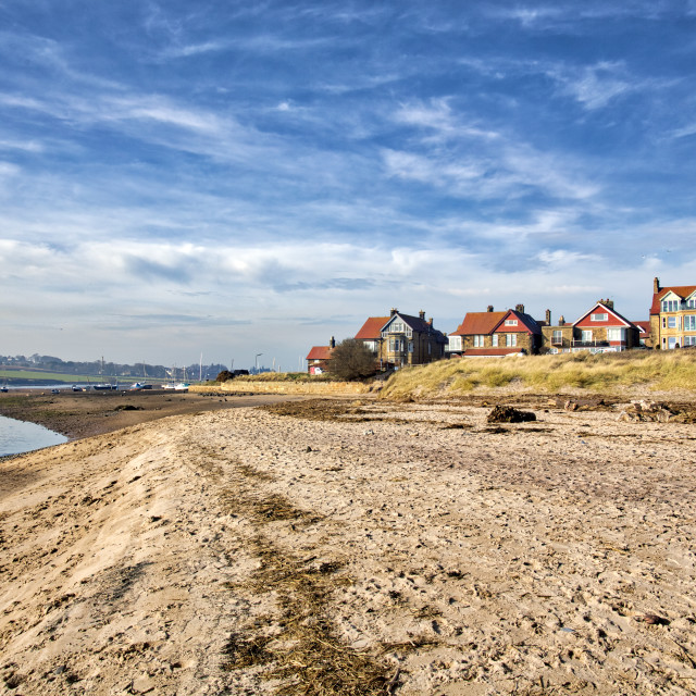 """""""Alnmouth 2."""" stock image"""