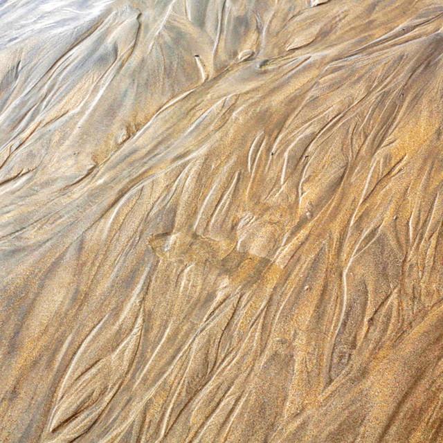 """Sand Swirls."" stock image"