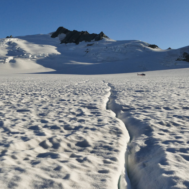 """Franz Josef Glacier - New Zealand"" stock image"