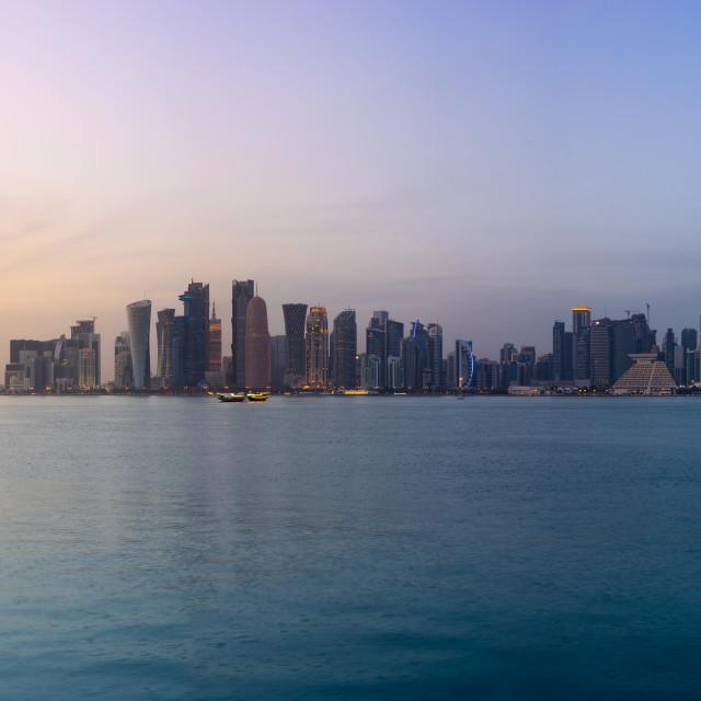 """""""Doha"""" stock image"""