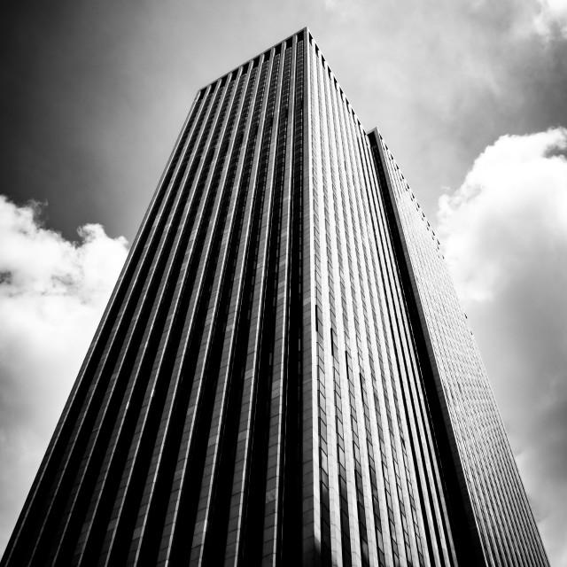 """General Motors Building, NY"" stock image"