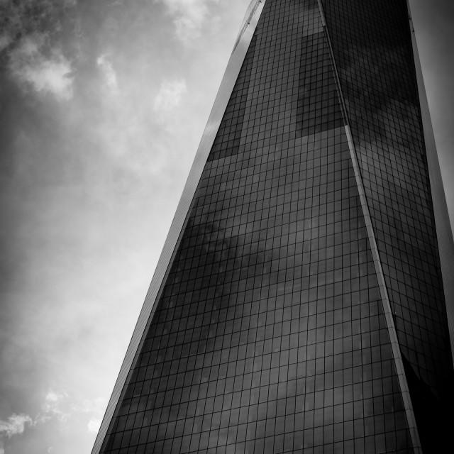 """""""Freedom Tower, NY"""" stock image"""