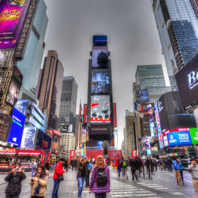 """""""Times Square New York"""" stock image"""