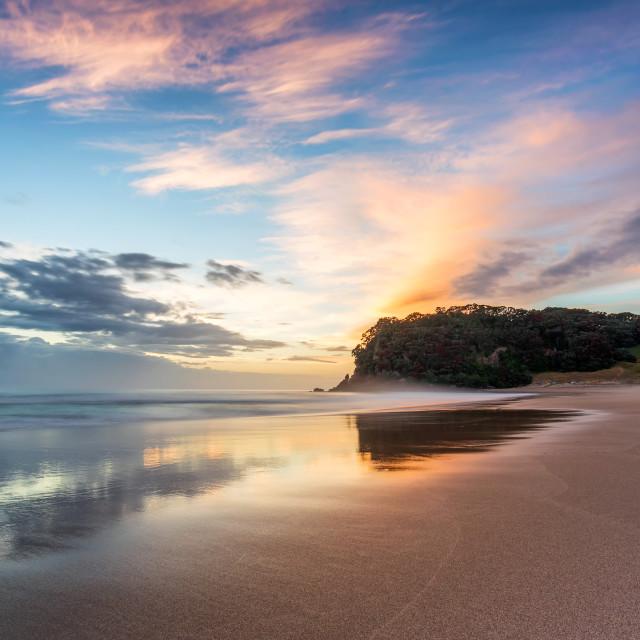 """""""sunrise Onemana"""" stock image"""