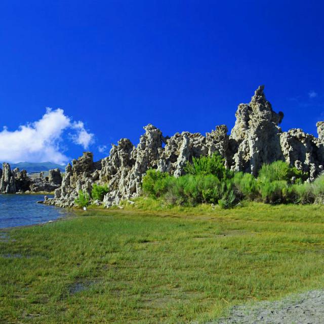"""""""Mono Lake, Lee Vining, CA"""" stock image"""