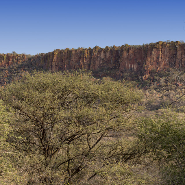 """waterberg plateau view in Namibia"" stock image"