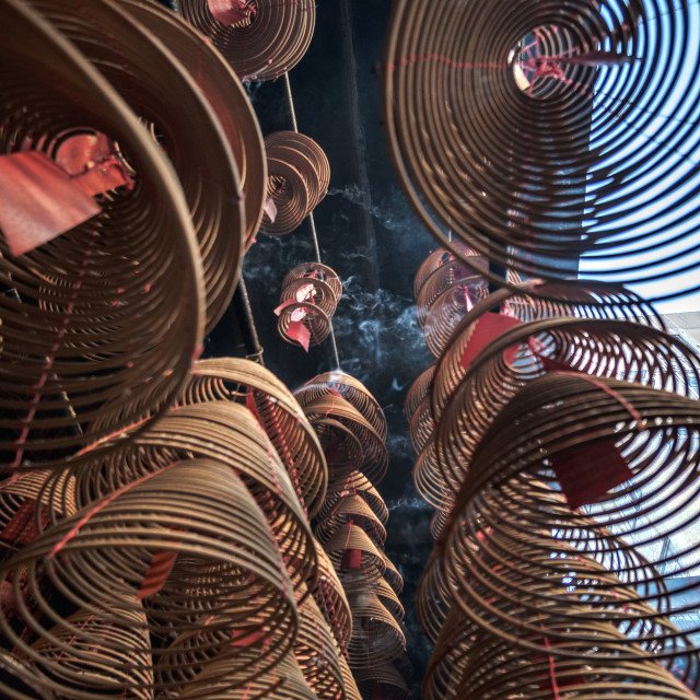 """""""Incense Coils"""" stock image"""