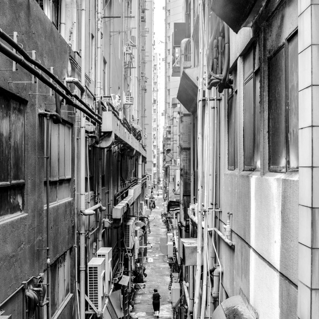 """""""Hong Kong Alley"""" stock image"""