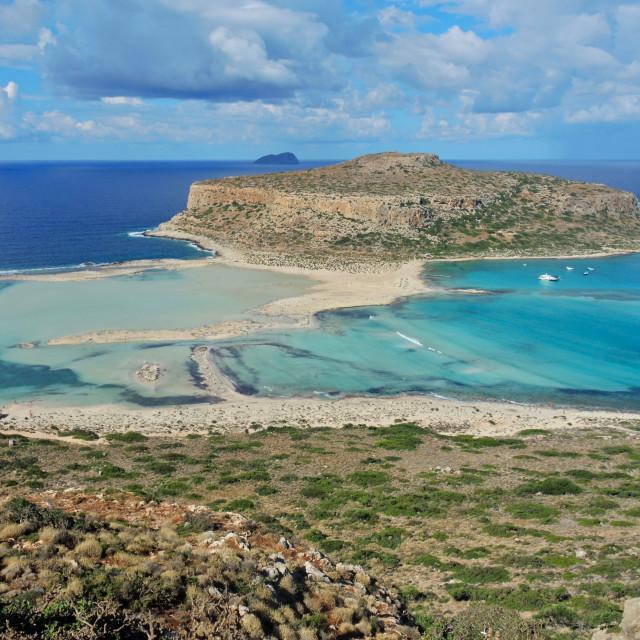 """Balos lagoon Creta"" stock image"