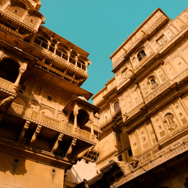 """""""Old Historical Building India"""" stock image"""