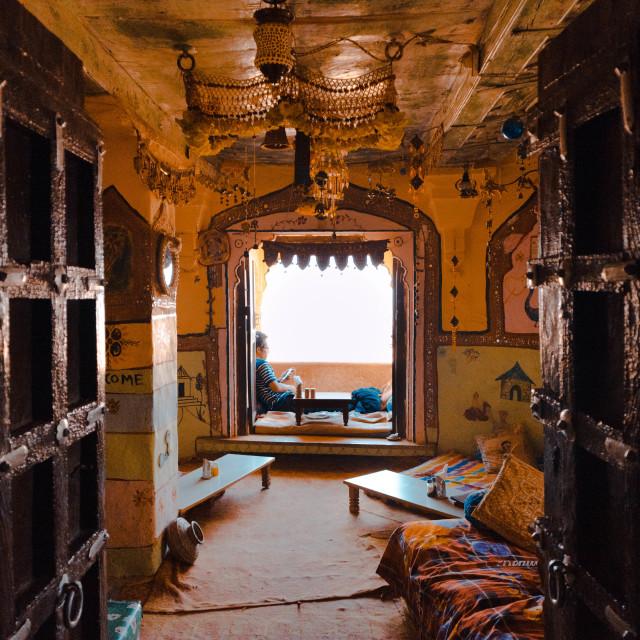 """Interior bar Rajasthan"" stock image"