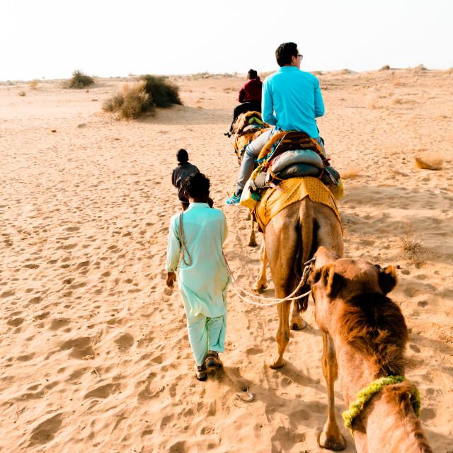"""Desert of Rajasthan"" stock image"