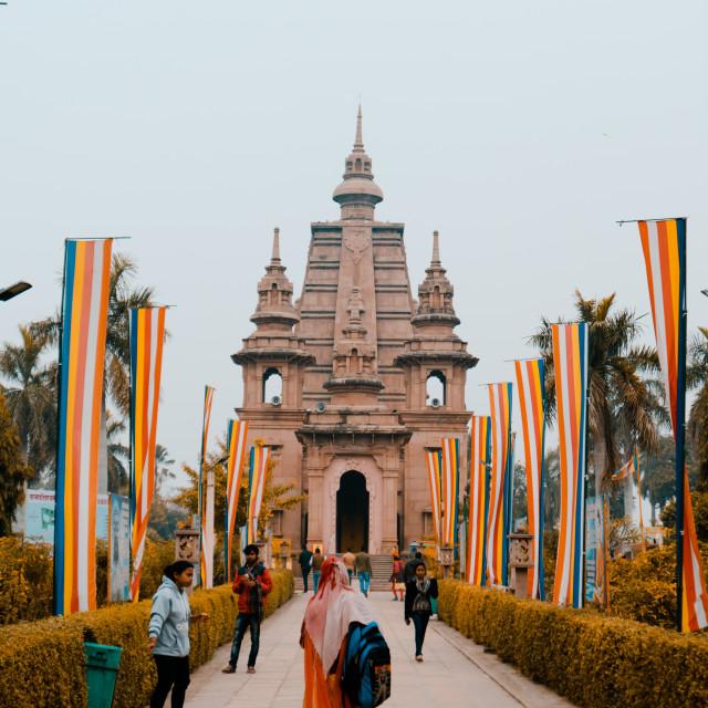 """Buddhist Temple India"" stock image"