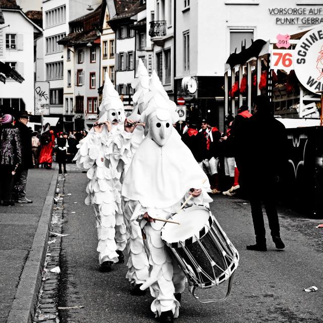 """""""Basel Carnival"""" stock image"""