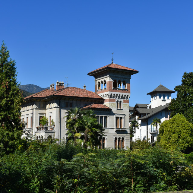 """Villa in Stresa"" stock image"