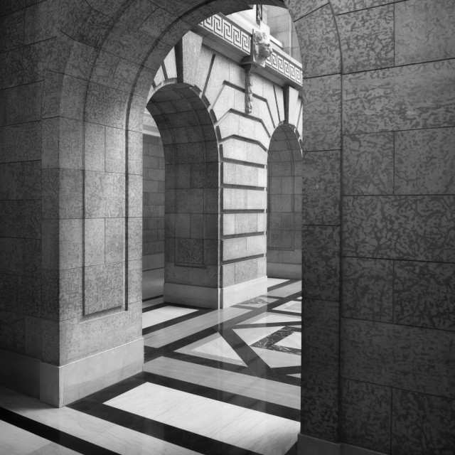 """""""Marble Arches"""" stock image"""