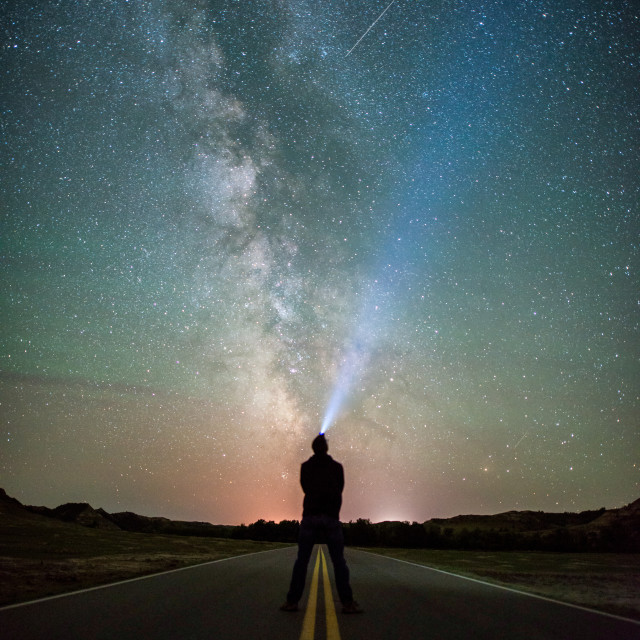 """""""Road to the Universe"""" stock image"""