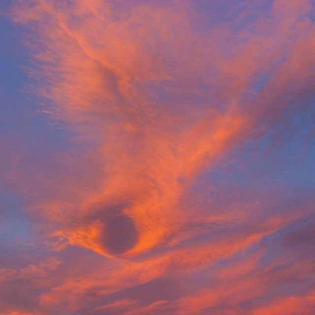 """""""Early morning cloudscape"""" stock image"""