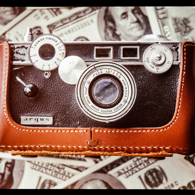 """Make money with photography"" stock image"
