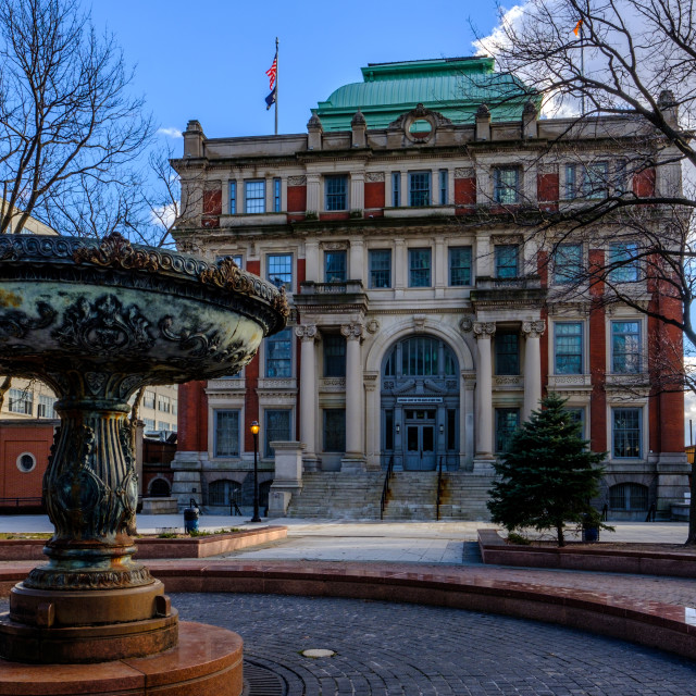 """""""Long Island City Courthouse in Queens, NY"""" stock image"""