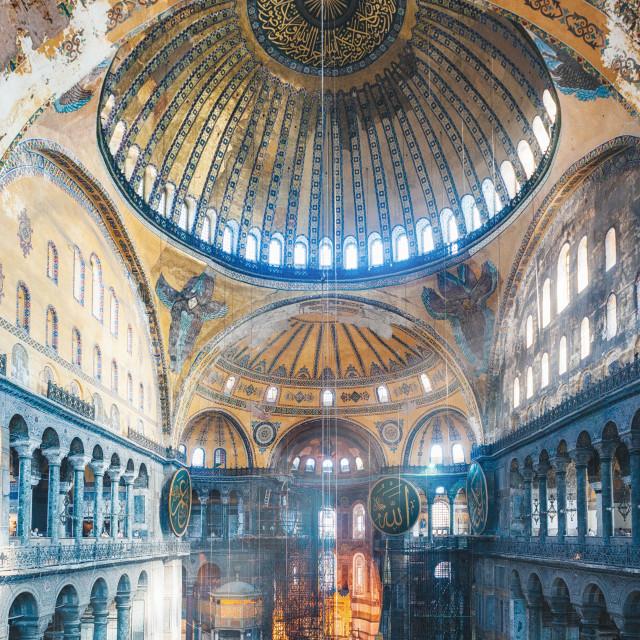 """Hagia Sophia"" stock image"