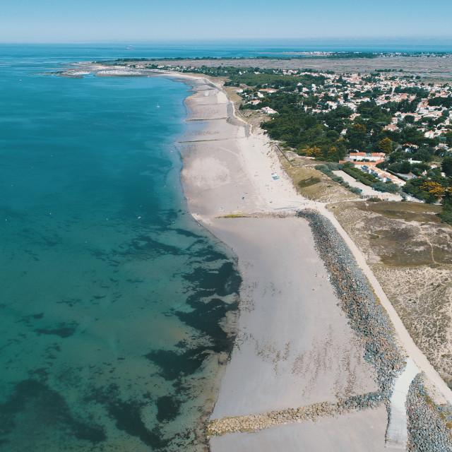 """Noirmoutier Summer"" stock image"