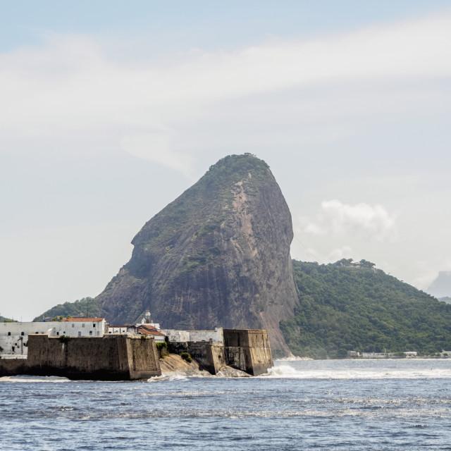 """Santa Cruz da Barra Fort, Niteroi, State of Rio de Janeiro, Brazil"" stock image"