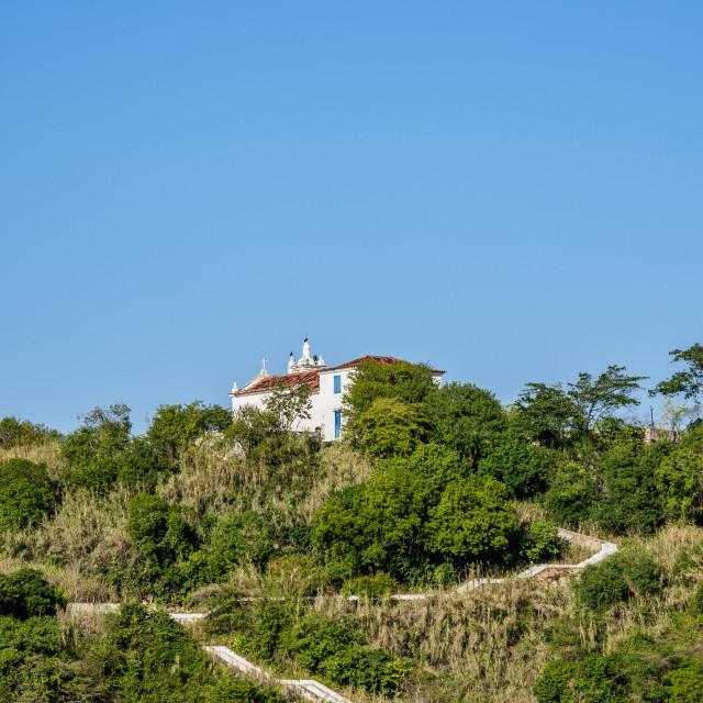 """""""Boa Viagem Island, Niteroi, State of Rio de Janeiro, Brazil"""" stock image"""