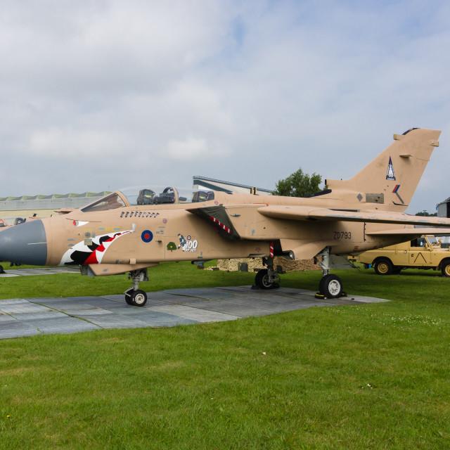 """Panavia Tornado GR4"" stock image"