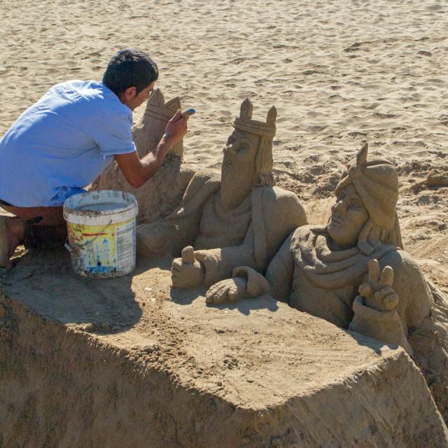 """""""Sand Kings"""" stock image"""