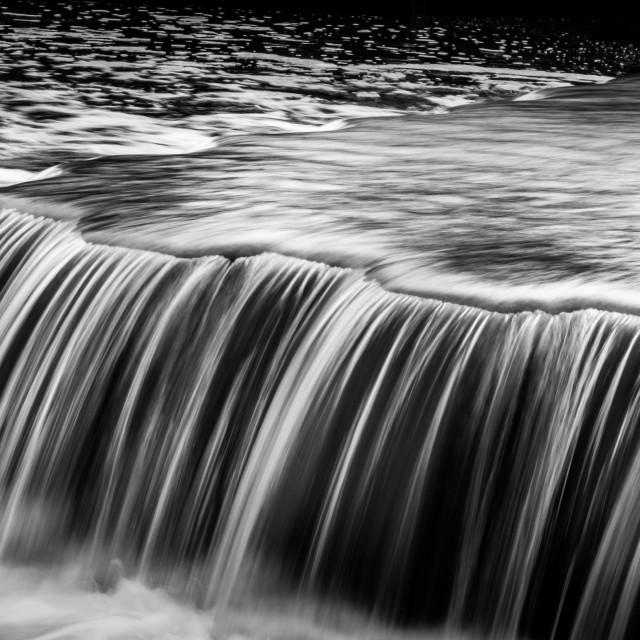 """Beeleigh Falls"" stock image"