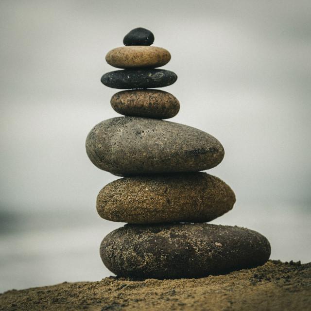 """Balanced Rocks"" stock image"
