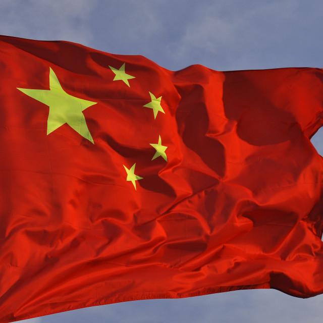 """""""Chinese Flag 6"""" stock image"""