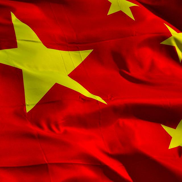 """""""Chinese Flag 5"""" stock image"""