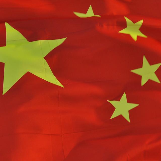 """""""Chinese Flag 10"""" stock image"""