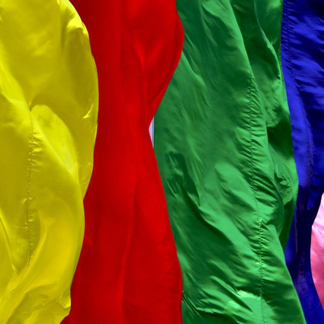"""Rainbow flag 1"" stock image"