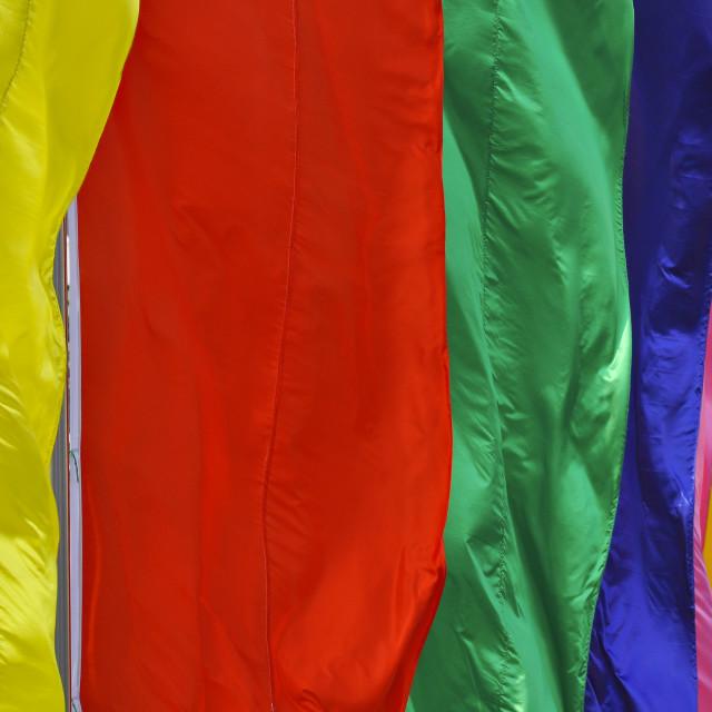"""Rainbow flag 2"" stock image"