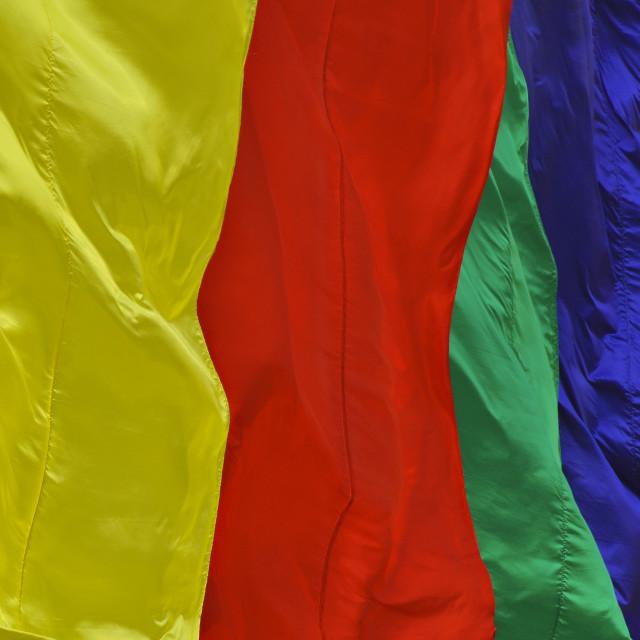 """Rainbow flag 3"" stock image"