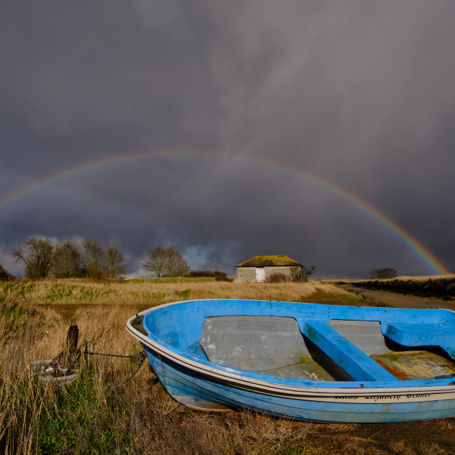 """""""Beaumont Quay Rainbow"""" stock image"""
