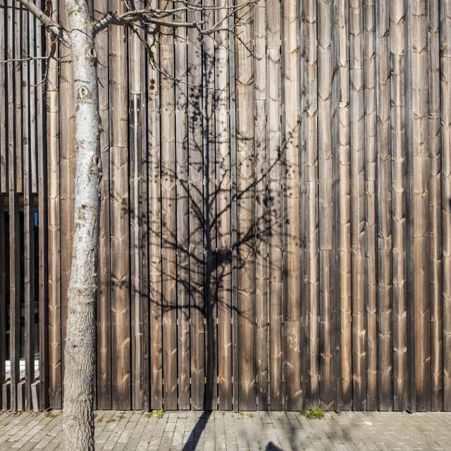 """Exterior facade in Spain"" stock image"