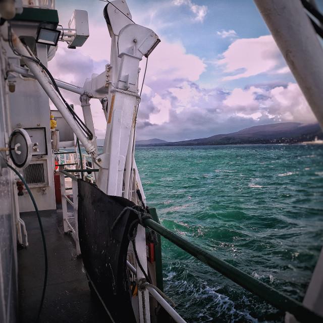"""RV Celtic Voyager - Bantry Bay"" stock image"