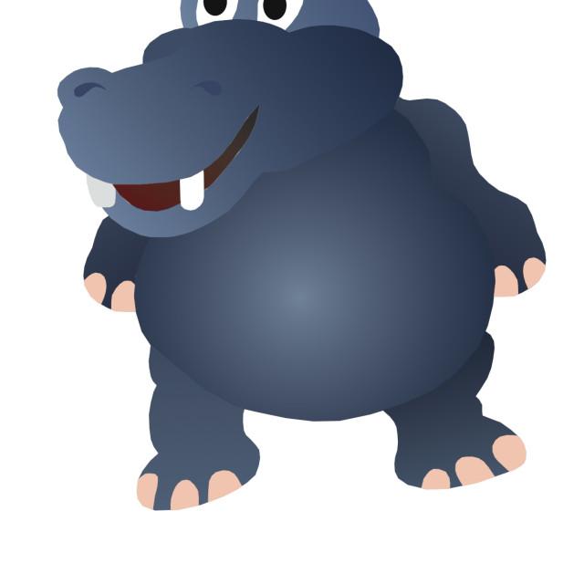 """""""hippopotamus Koolamooloo"""" stock image"""